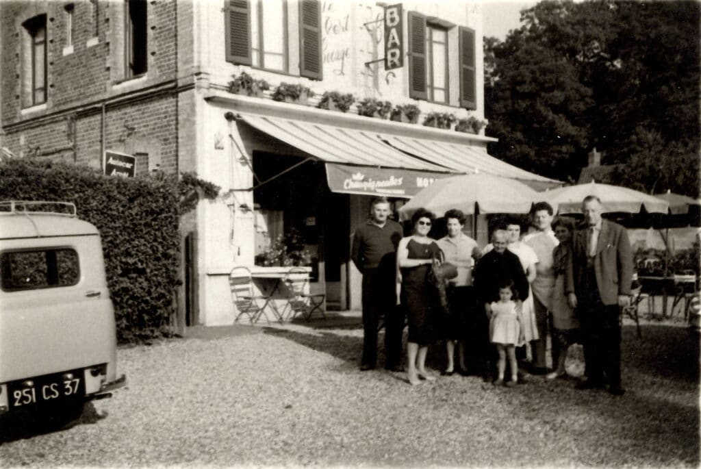 Bar restaurant hotel Le Vert Bocage 1900